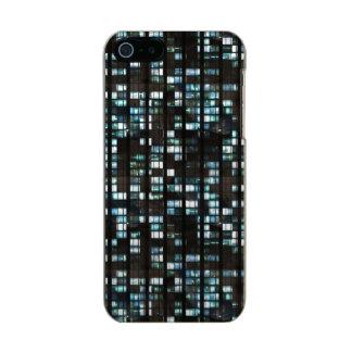 照らされた窓パターン メタリックiPhone SE/5/5sケース