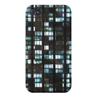 照らされた窓パターン iPhone 4 CASE