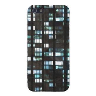 照らされた窓パターン iPhone 5 カバー