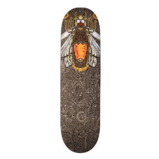 照明の虫 カスタムスケートボード