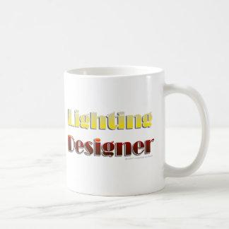 照明デザイナー(文字だけ) コーヒーマグカップ