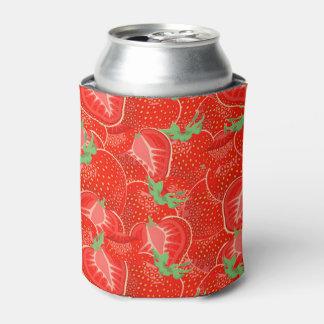 熟したいちごパターン 缶クーラー