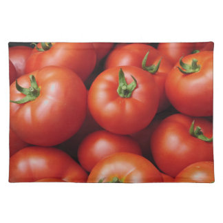 熟したトマト-新しい明るい赤 ランチョンマット