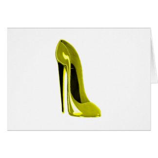 熟した黄色い小剣の靴 カード