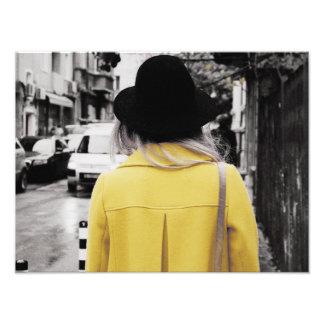 熟した黄色 フォトプリント