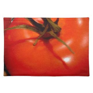 熟した、インスタント赤いトマトおいしい ランチョンマット