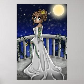 熟視の花嫁-軽いブルネット ポスター