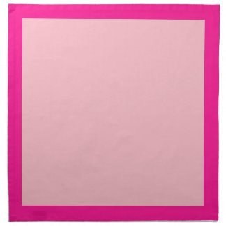 熱いおよびカーネーションのピンクのナプキン ナプキンクロス