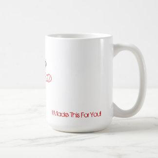 熱いかっこい援助のマグ コーヒーマグカップ