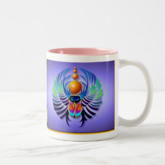 熱いオオタマオシコガネライトマグ ツートーンマグカップ
