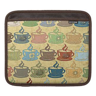 熱いコーヒーか茶 iPadスリーブ