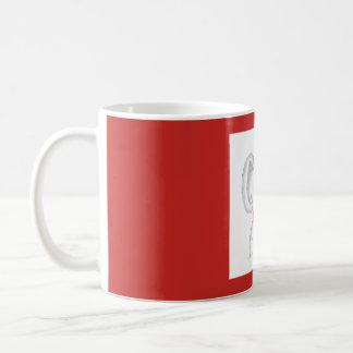 """""""熱いコーヒーのコップを持つコアラ""""マグ コーヒーマグカップ"""