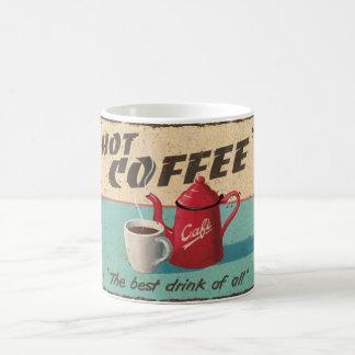 熱いコーヒー コーヒーマグカップ