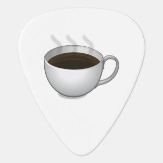 熱いコーヒー- Emoji ギターピック