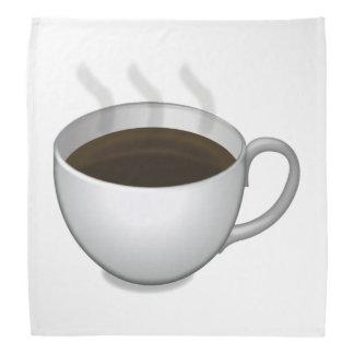 熱いコーヒー- Emoji バンダナ