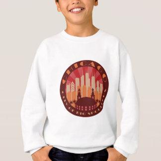 熱いシカゴの大きい肩 スウェットシャツ