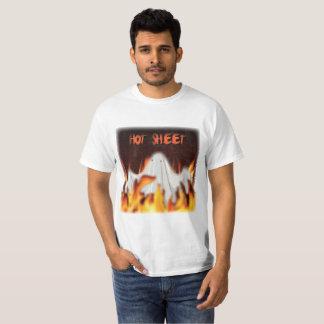 熱いシート Tシャツ