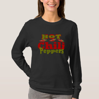 熱いチリペッパー Tシャツ