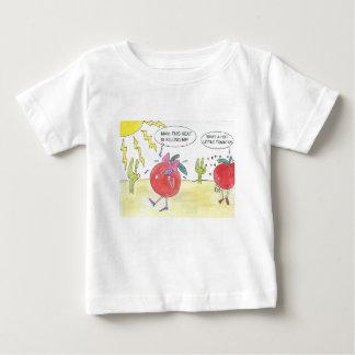熱いトマト ベビーTシャツ