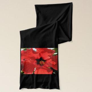 熱いハイビスカスの星のスカーフ! スカーフ