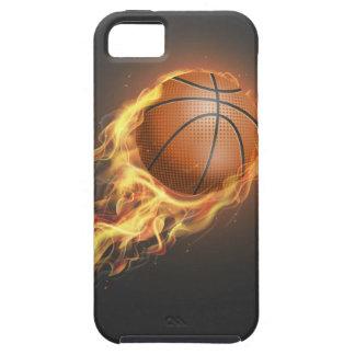 熱いバスケットボール iPhone SE/5/5s ケース