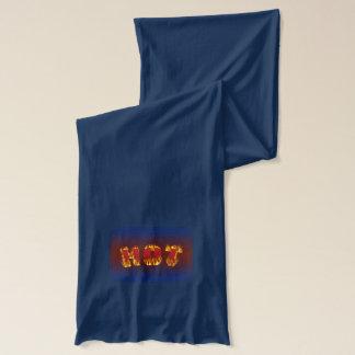 熱いパターン スカーフ