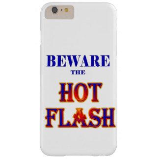 熱いフラッシュを用心して下さい! BARELY THERE iPhone 6 PLUS ケース