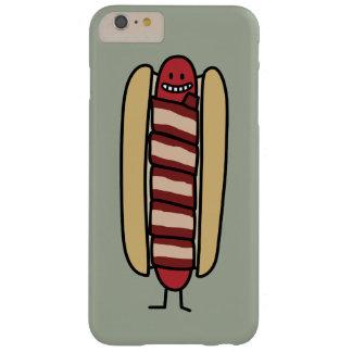 熱いベーコンの包まれたなホットドッグ BARELY THERE iPhone 6 PLUS ケース