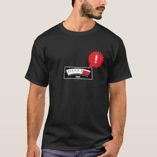 熱いロッキー山脈のレコーダーRMR! メートル Tシャツ
