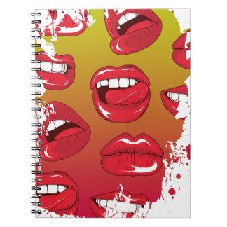 熱い唇 ノートブック
