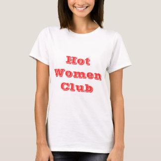 熱い女性クラブワイシャツ Tシャツ