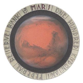 熱い宇宙は火星のお金100 Cydoniansを動かします プレート