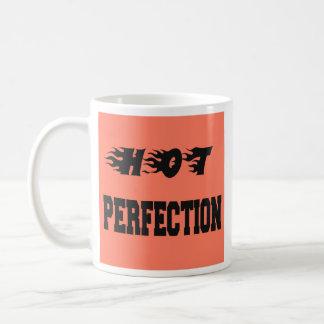熱い完全さ コーヒーマグカップ