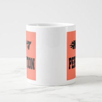 熱い完全さ ジャンボコーヒーマグカップ