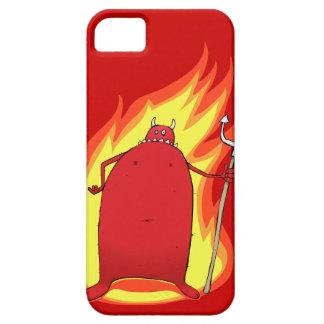 熱い悪魔のiPhone 5の電話箱の袖 iPhone SE/5/5s ケース