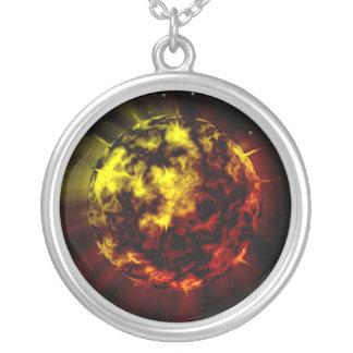 熱い惑星の宇宙ネックレス オリジナルジュエリー