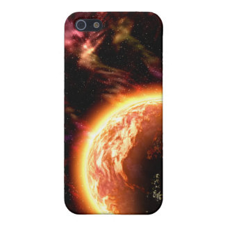 熱い惑星のiPhoneの場合 iPhone 5 ケース