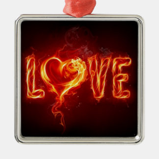 熱い愛 メタルオーナメント