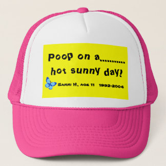 熱い晴れた日のウンチ! キャップ