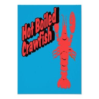 熱い沸かされたCrawfish カード