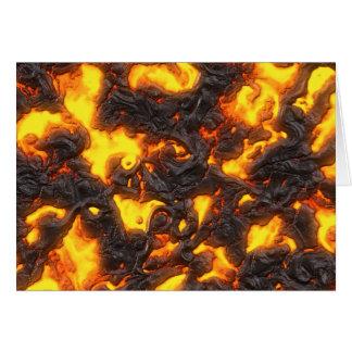 熱い溶岩 カード