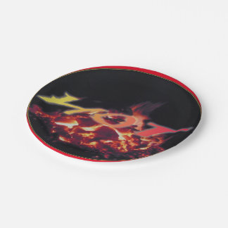熱い火の食糧プレート ペーパープレート
