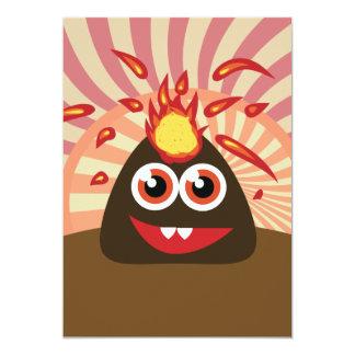 熱い火山モンスター カード