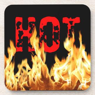 熱い炎 コースター