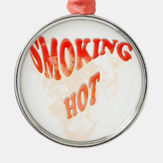 熱い煙ること メタルオーナメント