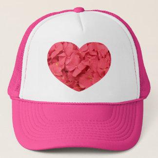 熱い珊瑚のピンクのアジサイ キャップ