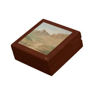 熱い砂漠の宝石箱 スクエアギフトボックス小