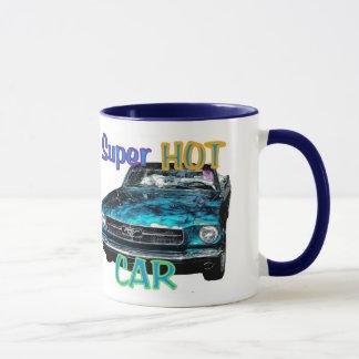 熱い車のマグ マグカップ