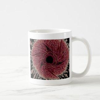 熱い車輪の回転 コーヒーマグカップ