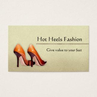 熱い靴のブティック 名刺
